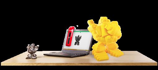 xyzprinting 3d-scanner med bærbar