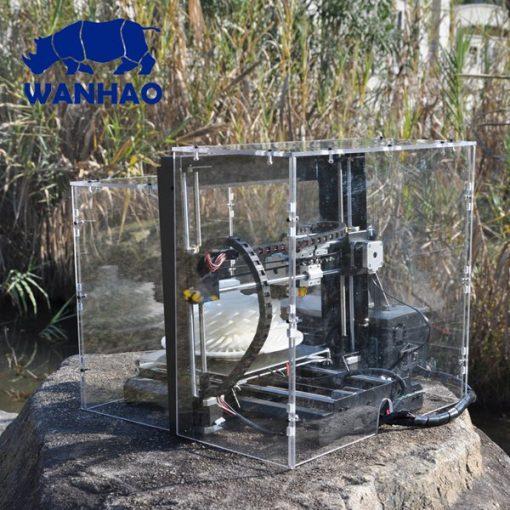 Wanhao I3 Encloser kit right back