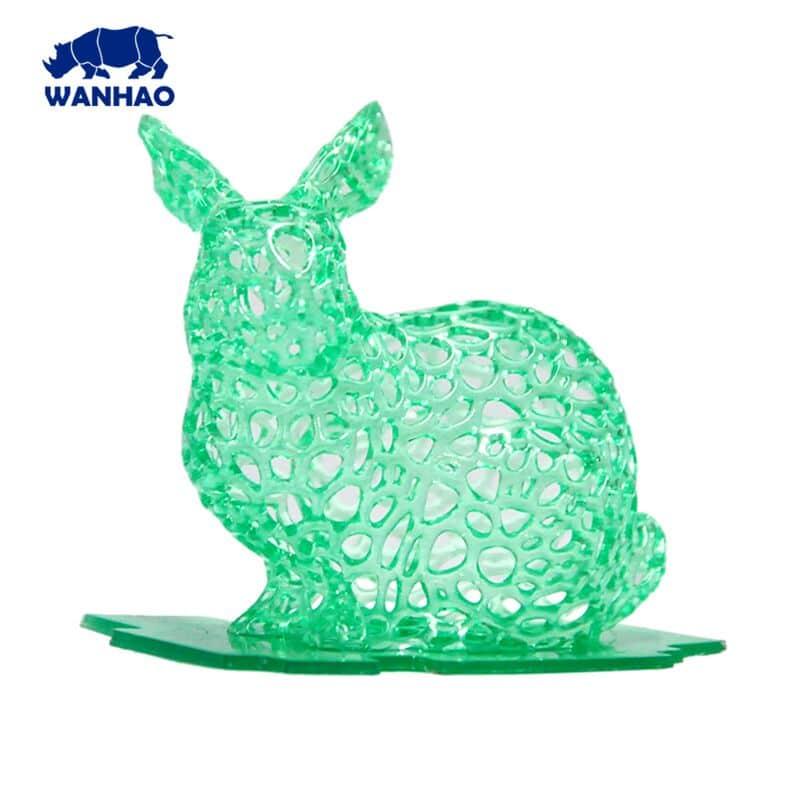 b52ff55bd8a Køb Wanhao 3D-Printer UV Resin - 1000 ml - Green - Hurtig Levering ...