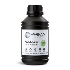 PrimaCreator-Value-UV-DLP-Resin-500-ml-Transparen-green