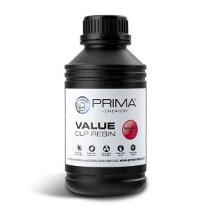 PrimaCreator-Value-UV-DLP-Resin-500-ml-Transparen-red