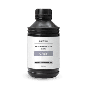 Zortrax UV Resin Basic 500ml Grey