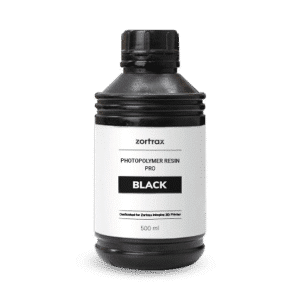 Zortrax UV Resin Pro 500ml Black