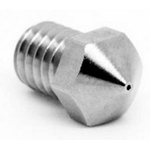 Micro Swiss Plated Wear Resistant nozzle for Wanhao i3 Mini